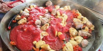 Add crushed tomato