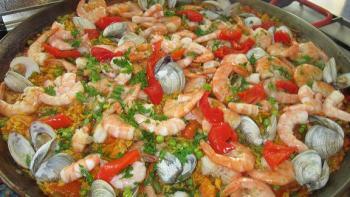 Add some lemon drops. Add the shrimp