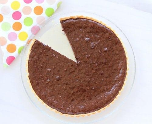Chocolate and Caramel Tart 1