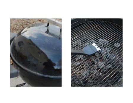 Cover grill with the vented lid