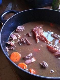 Cover the casserole