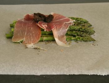 Drizzle with olive oil, lay on some dried or fresh tarragon