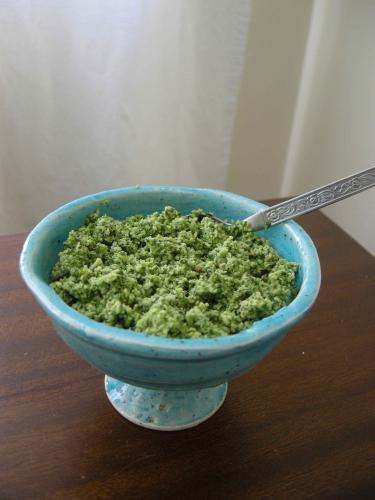 Fresh Green Chile Chutney