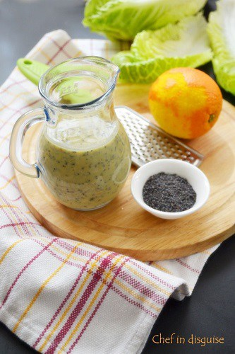 Mix the dressing ingredients