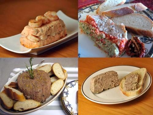 Pâtés-and-Bread