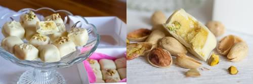 Pistachio Marzipan Bonbons