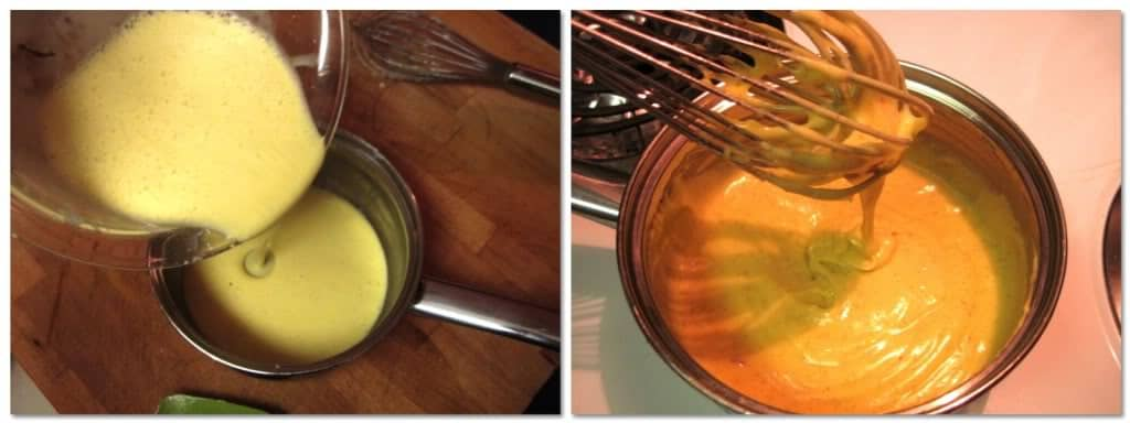 Pour the mixture back into the saucepan