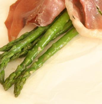 Slow Roasted Asparagus