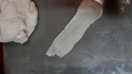 The gum paste