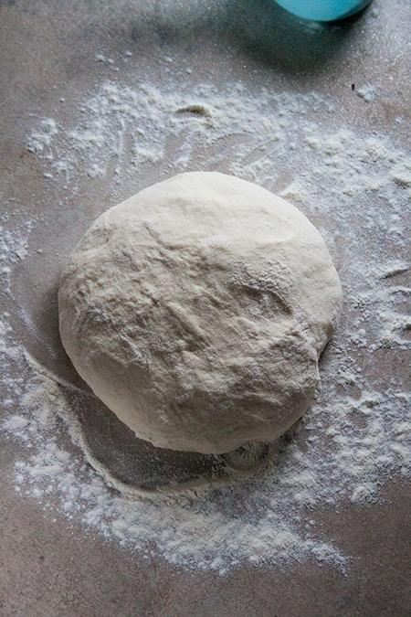 Transfer dough on a floured surface