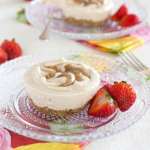 Vanilla & Raspberry Cheesecake
