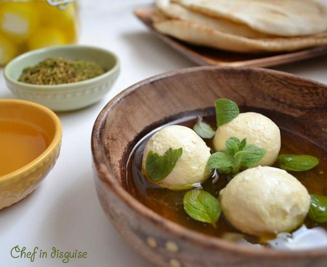 Yoghurt Cheese Balls