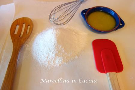 cornflour and baking powder