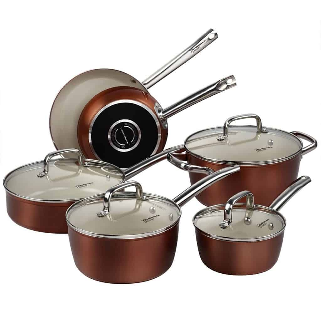 Cooksmark Nonstick and Dishwasher Safe Oven Safe - 10 Piece