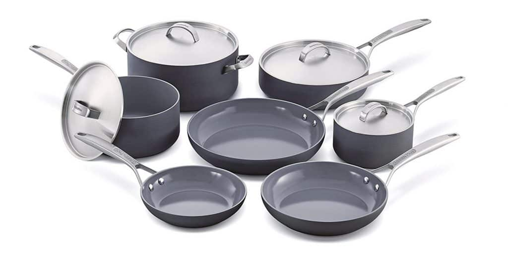 GreenPan Paris Cookware Set
