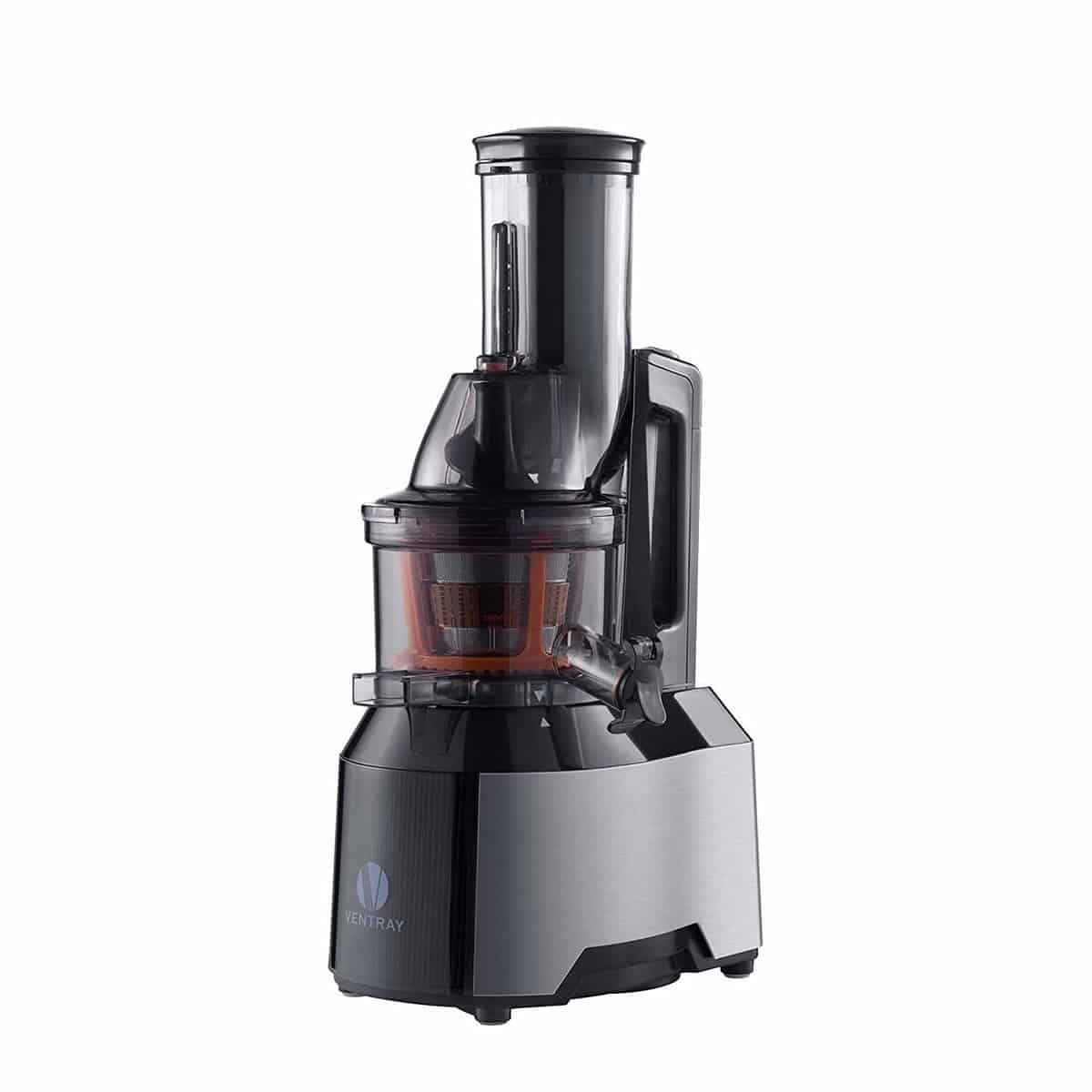 "Ventray 808 Professional Cold Press Slow Juicer with 3"" Wide Chute"