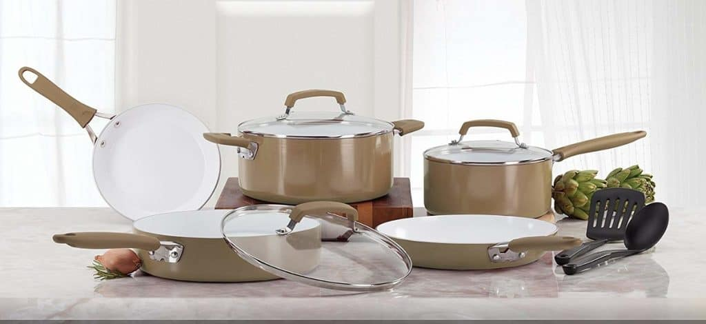 WearEver C944SA Pure Living Nonstick Ceramic Set