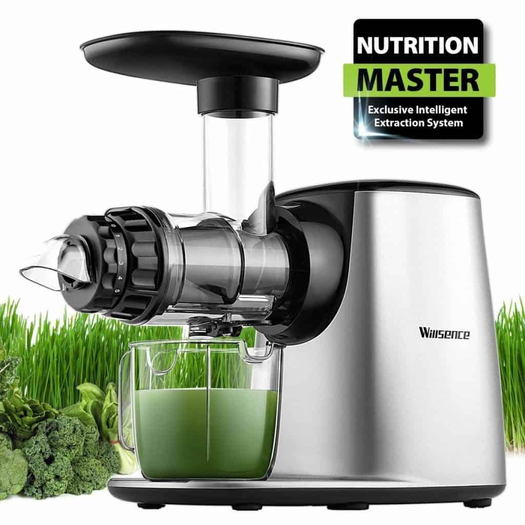 Masticating Juicer, Willsence Slow Juice Extractor