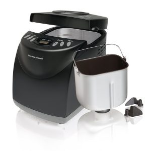 Hamilton Beach 29882 Best Bread Maker in black