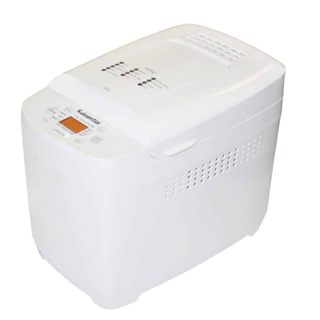 Kuissential 2-Pound Programmable Bread Machine in white