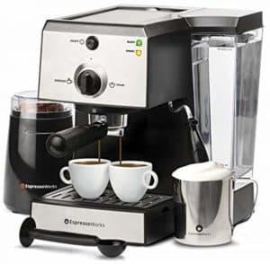 EspressoWorks 7 Pc All in One Espresso Machine