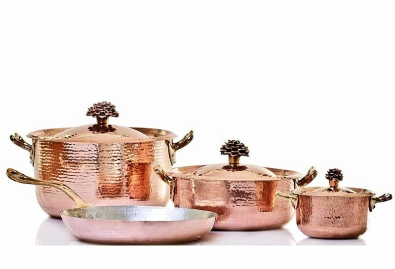 Amoretti Brothers Copper Kitchen Set