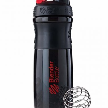 Blender Bottle Sport Mixer Tritan Grip Protein Shaker Bottle
