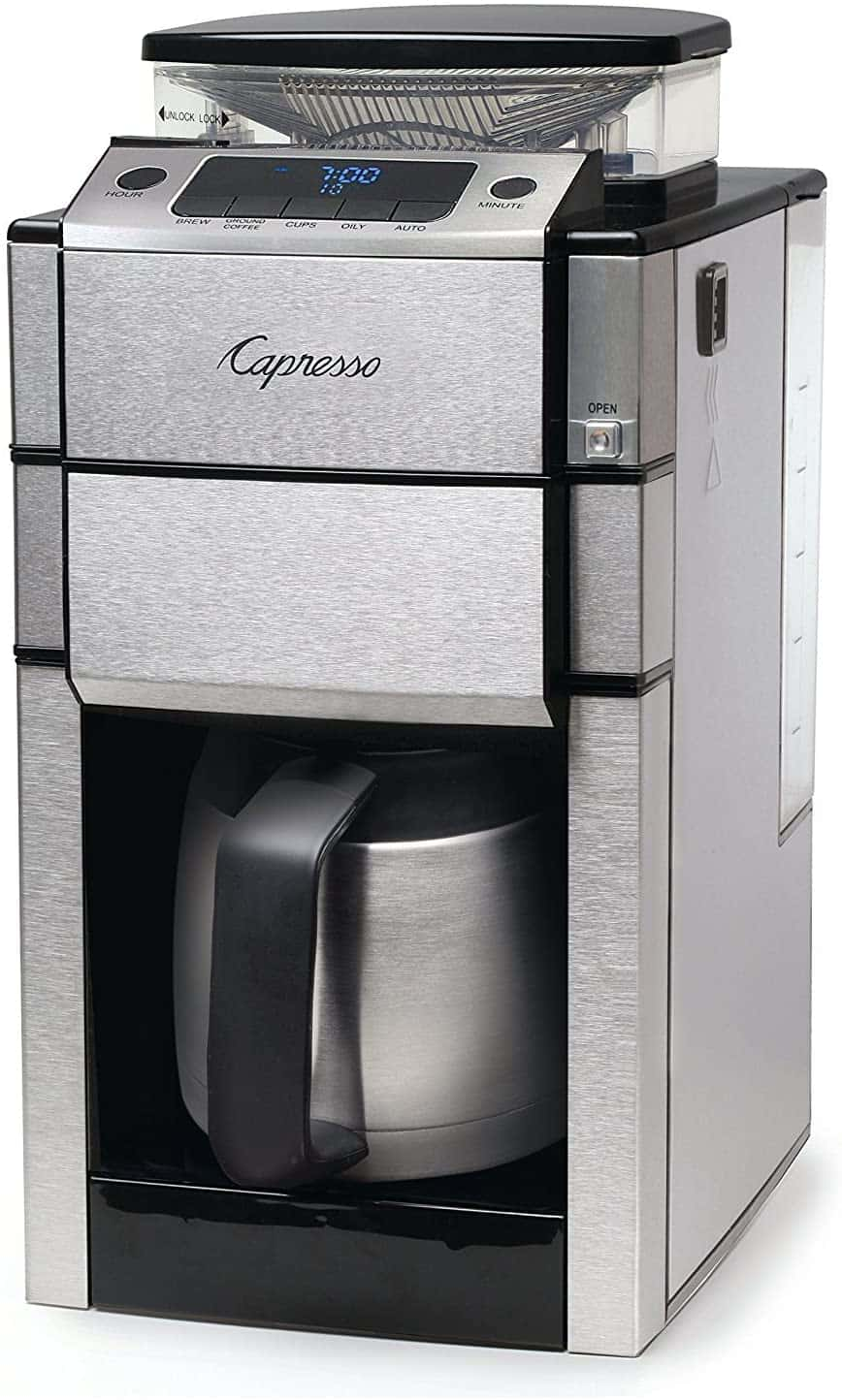 Capresso Coffee Maker with Grinder
