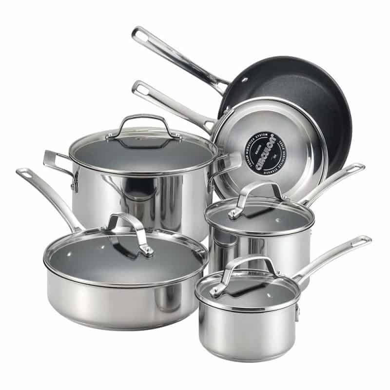 Circulon-Stainless-Steel-Nonstick-Cookware