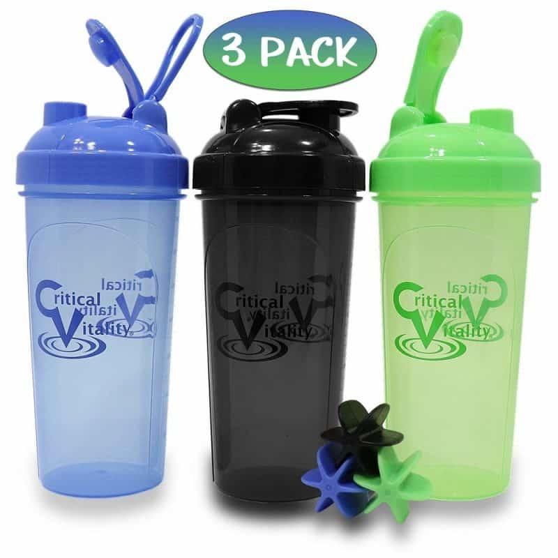 Critical-Vitality-Protein-Shaker-Bottles