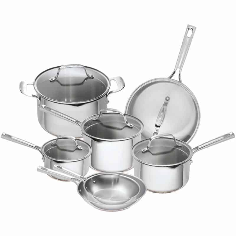 Emeril-Lagasse- Copper Core Pots and Pans