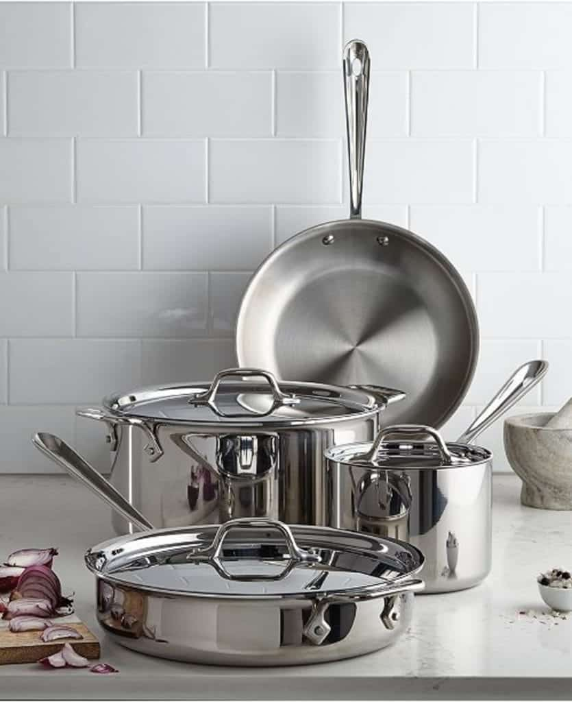 All-Clad Stainless Steel 7-Piece Set