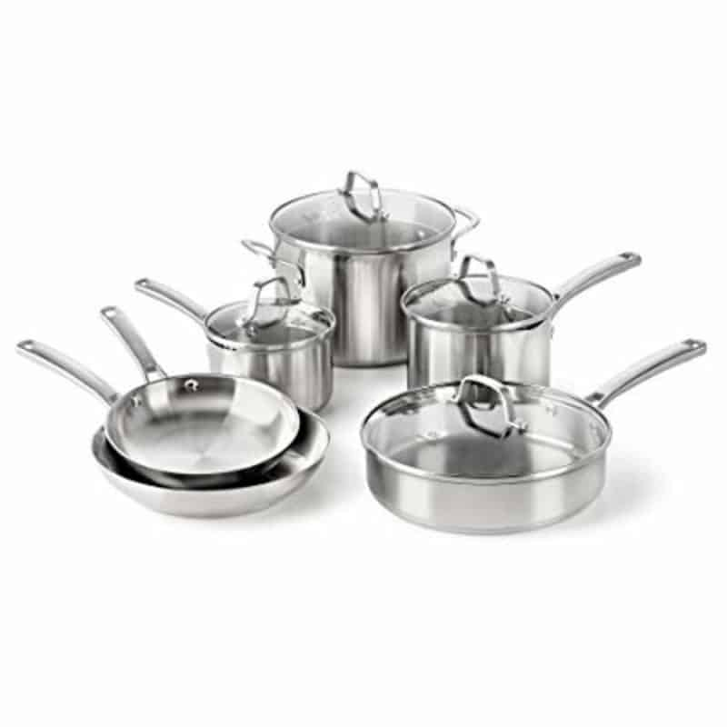 Calphalon Classic Stainless Steel 10 Pieces