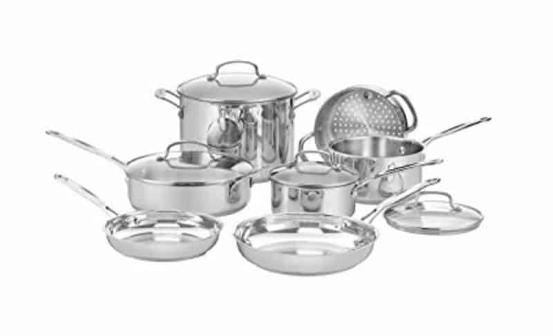 Cuisinart Chef's Classic Cookware Set 11 Pieces