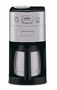 Cuisinart Grind and Brew Thermal Automatic Coffee Maker and Grinder
