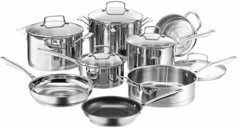 Cuisinart Professional Series 13-Piece Set with Lids
