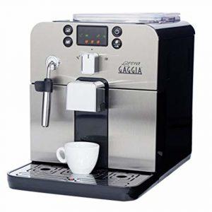Gaggia Brera Super Automatic Espresso Machine in Silver