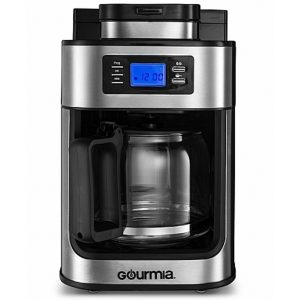 Gourmia GMC4700 Coffee Maker with Grinder
