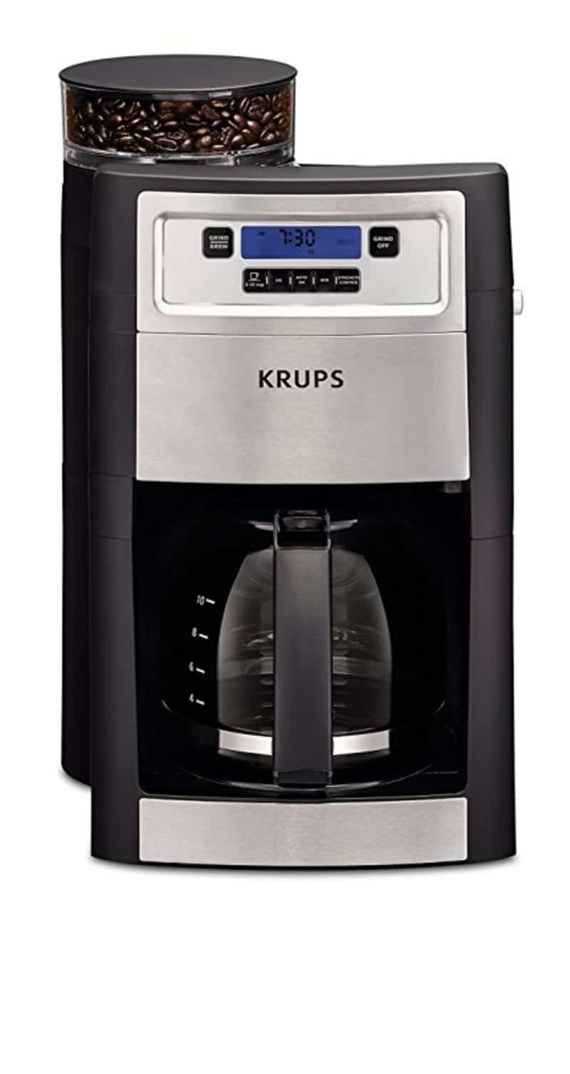 KRUPS KM785D50 Grind and Brew Automatic Coffee Maker