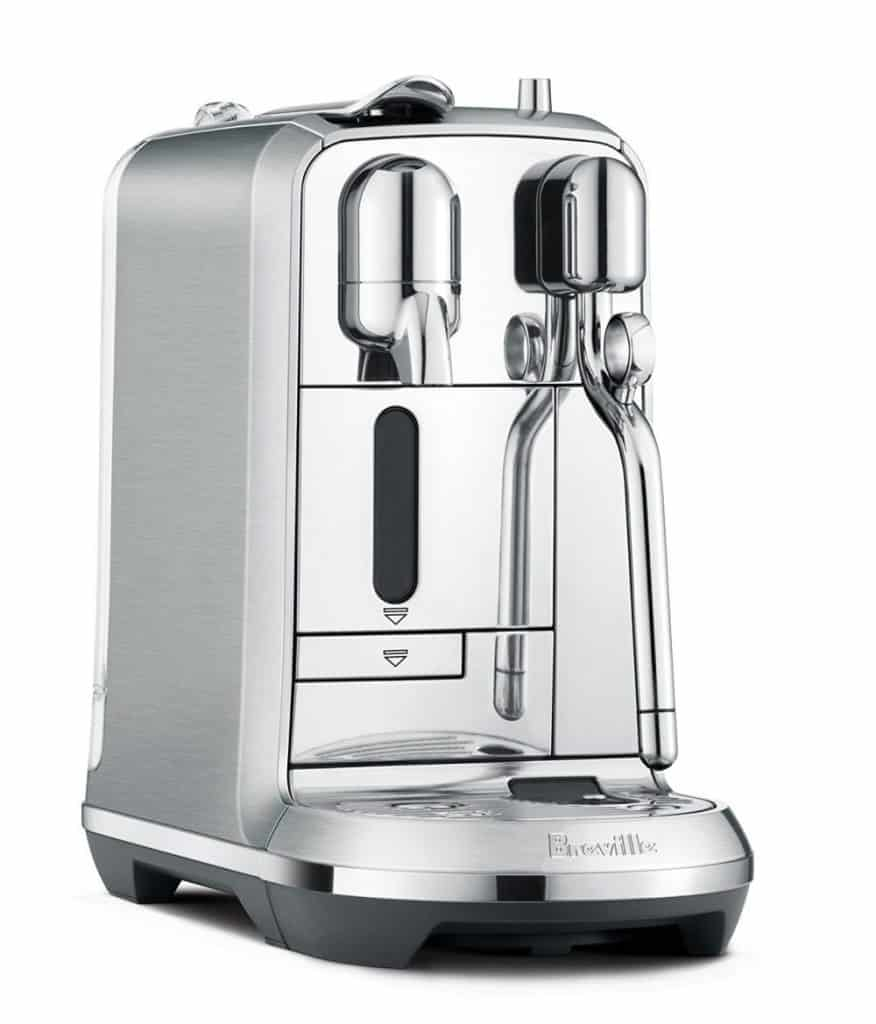 Nespresso Creatista Plus Espresso and Coffee Machine with Milk Frother by Breville, Silver