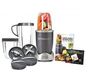 Nutribullet 12-Piece High-Speed Blender Mixer System in Gray