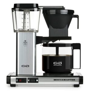 Technivorm Moccamaster KBG Coffee Brewer, Polished Silver