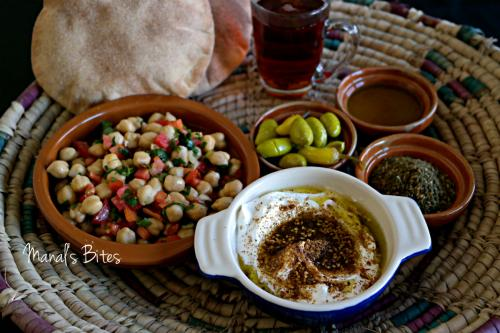 Middle Eastern breakfast