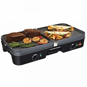 Hamilton Beach 38546 3 in 1 Electric Griddle - 20.1""