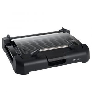 Secura GR 1503XL 1700W Electric Reversible 2 in 1 Griddle
