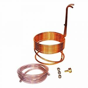 Home Brew Stuff WC-25 HomeBrewStuff Super Efficient 3/8 x 50' Copper Wort Chiller