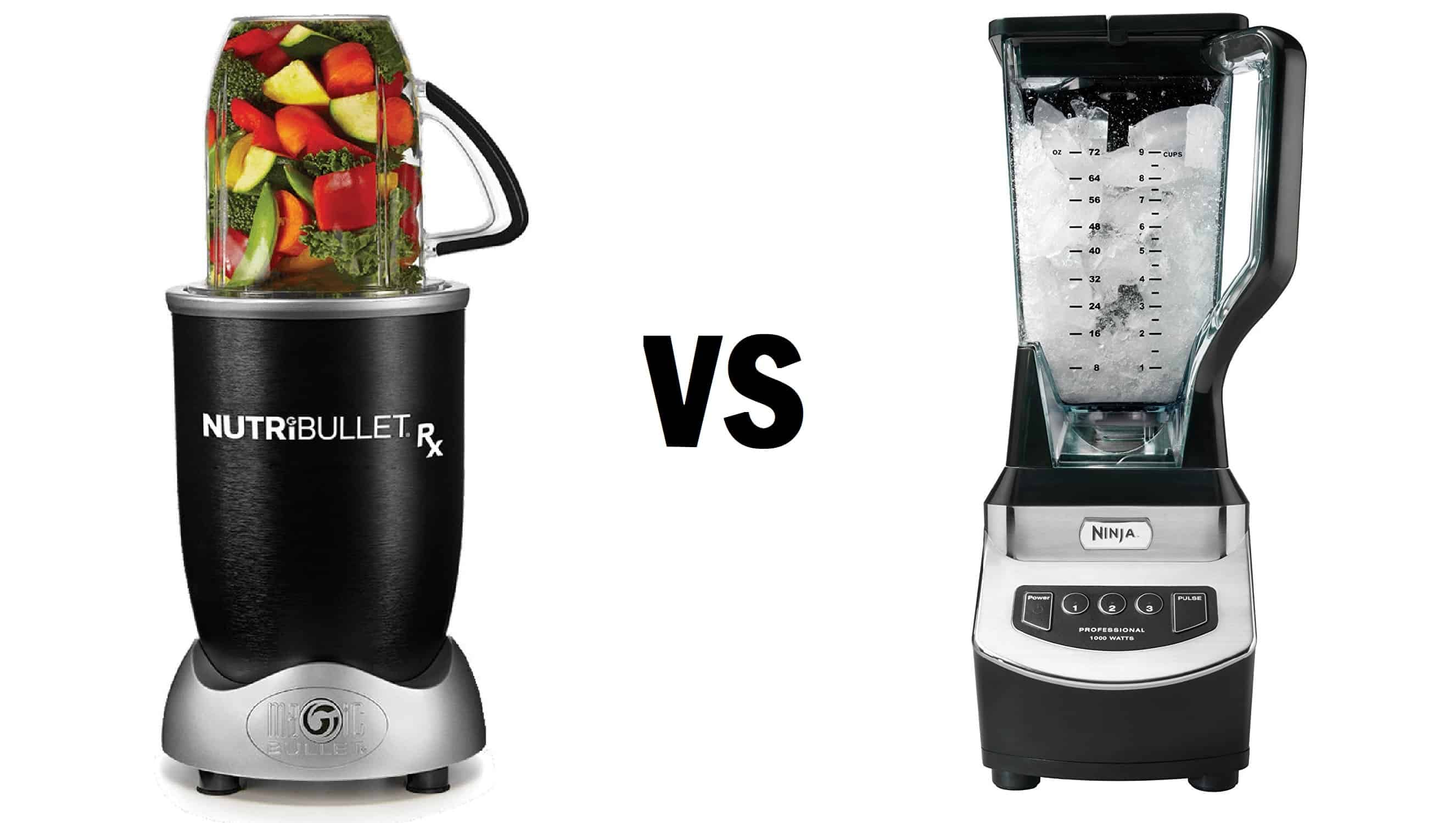 Best Blender 2019: Nutribullet vs Ninja