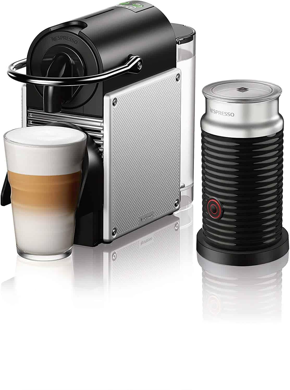 Nespresso Espresso DeLonghi Aeroccino Machine