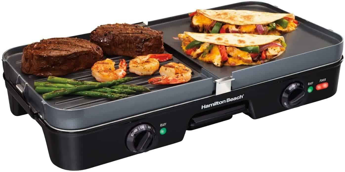 Hamilton Beach 3-in-1 Electric Griddle