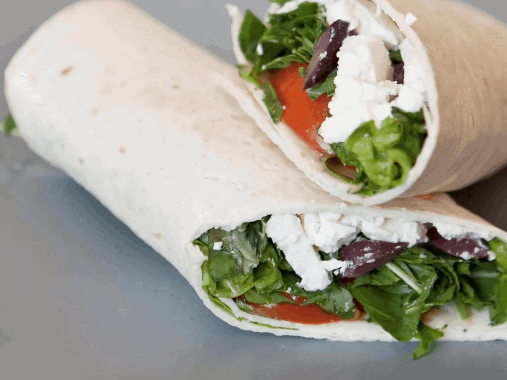Greek Salad Veggie Roll
